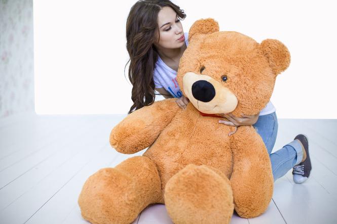 """Большой медведь 130 см карамельный """"Тихон"""""""
